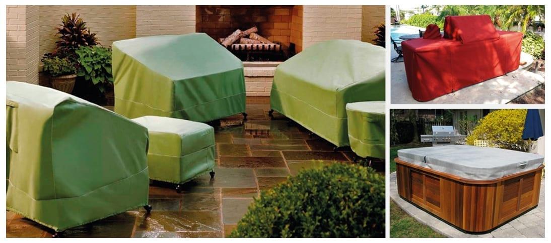 Takaróponyva, védőhuzat méretre készítés kerti bútorra, grillre
