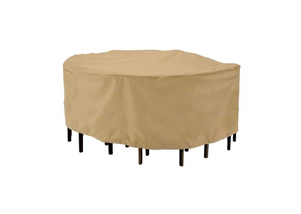 Kerti asztal takaró ponyva, kerti bútor takaróponyva méretre készítés, időjárásálló, minőségi anyagok garanciával!