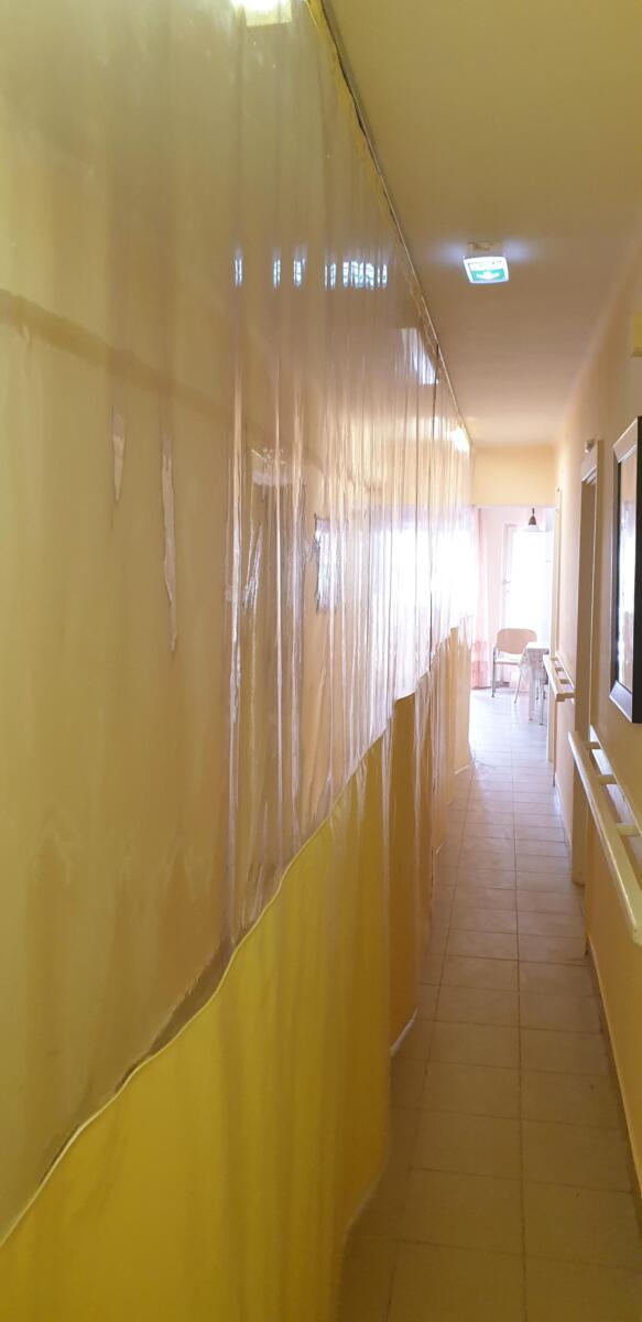 izolációs PVC függöny